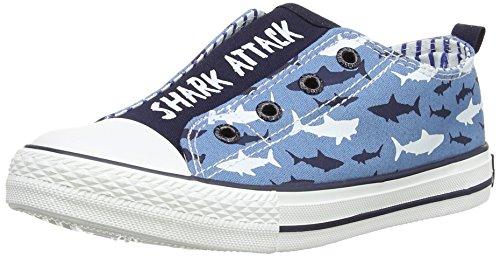 Tubarões Hatley Azul Novo Sneaker (azul)