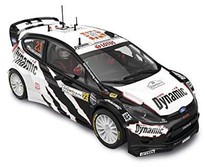 "Scalextric Original - Ford Fiesta RS WRC ""Dynamics"" - coche slot analógico (A10113S300) de Fábrica de Juguetes"
