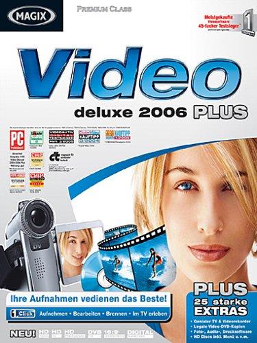 Preisvergleich Produktbild MAGIX Video deLuxe 2006 PLUS