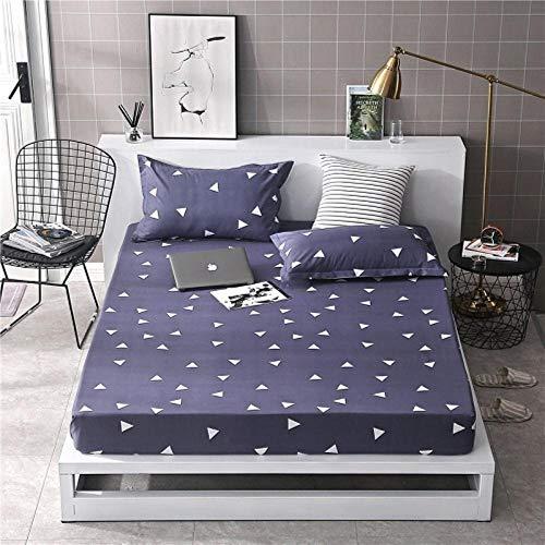 PENVEAT 1 stücke 100% Polyester Druck Bett matratze Set mit Vier Ecken und Gummiband blätter heißer, aicao, 100X200X25 cm