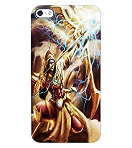 ColourCraft Suryaputra Karna Design Back Case Cover for APPLE IPHONE 4S