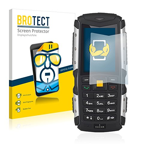 BROTECT Schutzfolie kompatibel mit Kazam Life R5 [2er Pack] klare Bildschirmschutz-Folie
