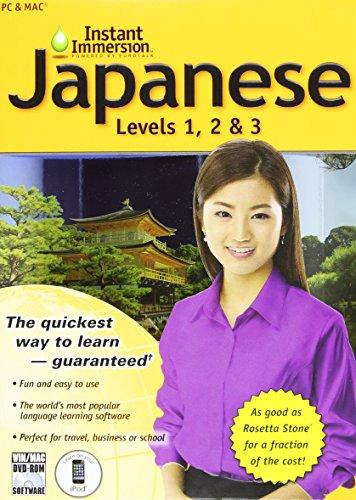 Japanese Levels 1-2 -3 (V.2) (Instant Immersion)