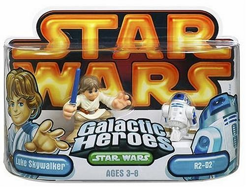 Star Wars Galactic Heroes Episode 2 Junior Figure Luke & R2D2 by Hasbro