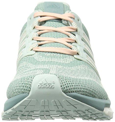 Adidas da donna Energy Boost 3W Scarpe da corsa Vapour Green/Chalk White