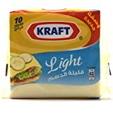 Kraft Light Cheese Slices , 10 Slices, -200g