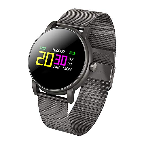 Yallylunn Heart Rate Activity Step Counter Calorie Smart Bracet High Definition Farbbildschirm einfach zu tragen klassischem Uhrendesign for Kids Women