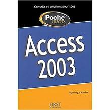 PocheMicro Access 2003