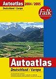 Falk Autoatlas 2004. Deutschland/Europa. Amazon.de Sonderausgabe.