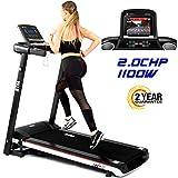 BTM A7 Motorised electric treadmill Folding Running machine 2019 Digital Control 2.0CHP Motor