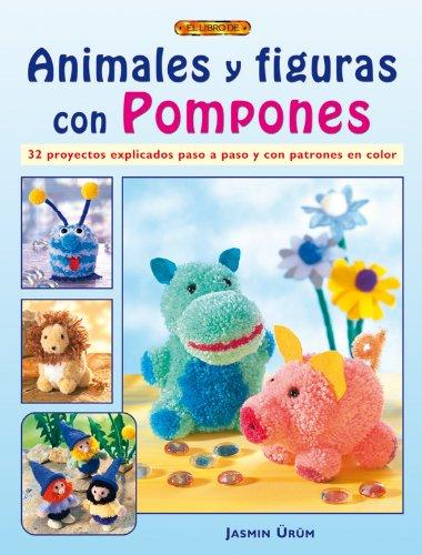 Animales y figuras con pompones por Jasmin Ürüm