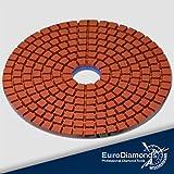 Diamante 868–Húmedo/DIA Wet, grano 400, 100mm, M14, grabación de velcro discos de pulir Polis hpads, schleifpads mármol piedra natural, azulejos, granito piedra natural lija