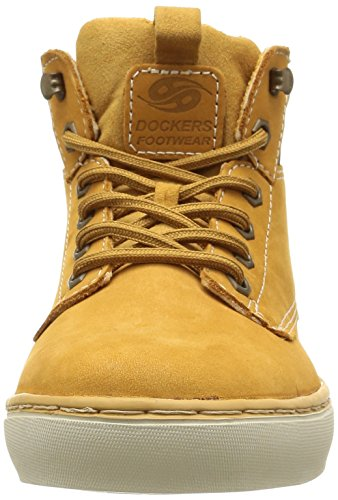 Dockers by Gerli 33ec010-300910 Herren High-Top Gelb (golden tan 910)