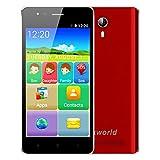 'samlike vkworld F1Smartphone 3G écran 4,5IPS Android 5.1mtk6580m Quad Core 1.1g 1g + 8G Dual SIM Smart Wake Loupe