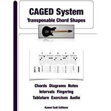 CAGED System: Transposable Chord Shapes (English Edition)