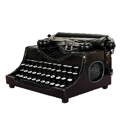 @LIU-ES-Antiguo Arte Metal Decoración Retro Máquina De Escribir Modelo Tiro Apoyos De La Película (Oficios No Funcionan)