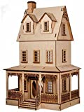 Melody Jane Dolls Houses Puppenhaus Miniatur 1:24 Laserschnitt Abriana Landhaus Flache Packung Set