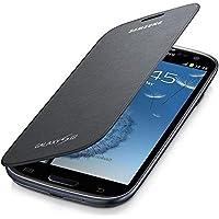 Samsung Flip - Funda para móvil Galaxy S3 (Permite hablar con la tapa cerrada, sustituye a la tapa trasera), negro