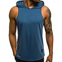 OZONEE Herren Tanktop Tank Top Tankshirt T-Shirt mit Print Unterhemden Ärmellos Weste Muskelshirt Fitness 9078