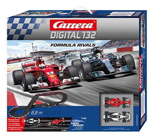 Carrera Digital 132-Formula Rivals Circuito de Coches (20030004)