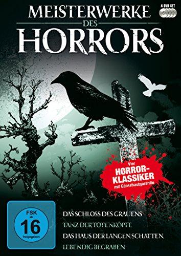 Meisterwerke des Horrors [4 DVDs]