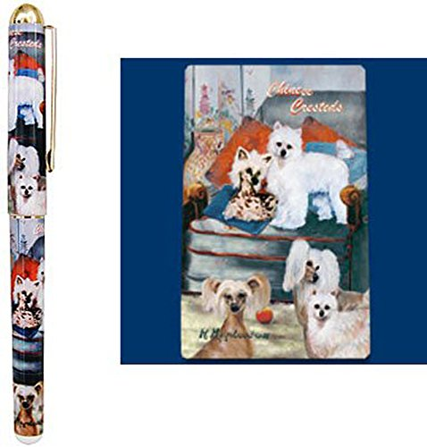 motif-chien-chinois-crte-stylo-roller-design-par-ruth-maystead-ccr-priode-denqute