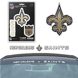 Nfl New Orleans Saints Exterior Auto Kit