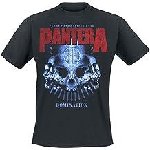 Pantera Domination Camiseta Negro