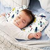Baby Kopfkissen,orthopädisches Babykissen gegen Kopfverformung und Plattkopf,Memory-Schaum Baby-Kissen,Visco-Schaum Kinderkissen Babykissen für Plagiozephalie (flugzeug)
