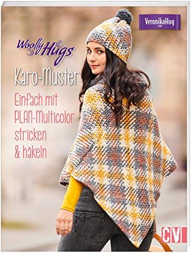 Woolly Hugs Karo-Muster: Einfach mit PLAN-Multicolor stricken & häkeln