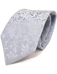 Mexx Krawatte blau hellblau gemustert 100% Pure Seide