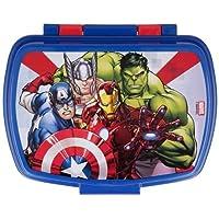 Contenitore Portapranzo Porta merenda Scatola Sandwich Box per Bambini (Avengers Supereroi Hulk Thor Iron Man)