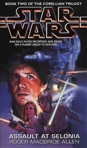 Cover of Assault At Selonia (Star Wars: Corellian Trilogy 2)
