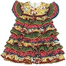 Vestido Traje Flamenca niña bebé (Desde 12 Meses hasta 24 Meses) - Modelo Remedios
