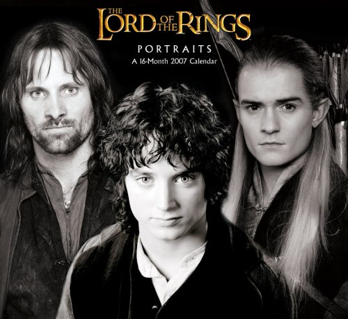 Click for larger image of Lord of the Rings Portraits 2007 Calendar
