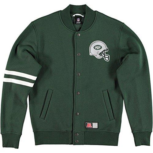 Majestic-Giacca NFL New York Jets emodin Football Letterman, L