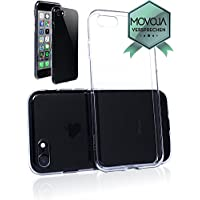 Movoja® [ iPhone 7 / iPhone 8 Hülle Case ] | PERFEKTE Passform | TPU Schutzhülle Crystal Case | Durchsichtige Silikon Hülle transparent iPhone7 / iPhone8 klar Cover Apple Case Silikon Crystal Case für Apple i-phone-7 / i-phone-8 - Schutz