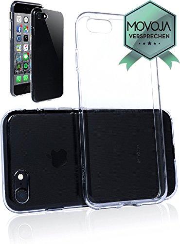 Movoja-Custodia-protettiva-trasparente-per-iPhone-7-PROTEZIONE-PERFETTA-MOVOJA-Germania-qualit-Apple-in-TPU-cover-smartphone-Crystal-Case