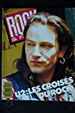 ROCK & FOLK 256 OCTOBRE 1988 COVER BONO U2 POSTER U2