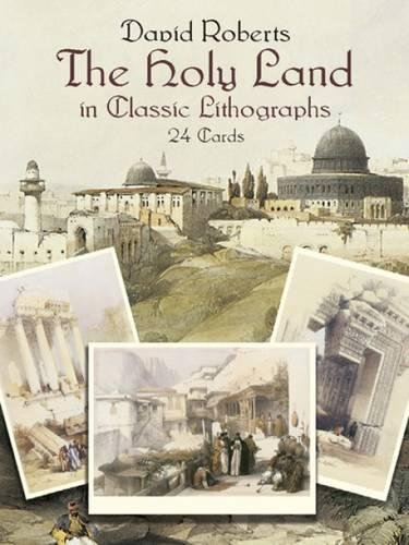 The Holy Land in Classic Lithographs: 24 Cards (Dover Postcards) por David Roberts