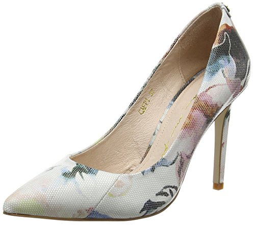 Moda In Pelle CAPPI, Damen Pumps, Mehrfarbig (Floral), 39 EU (6 UK)