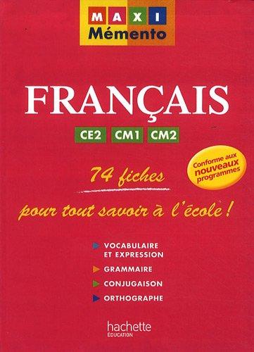 Français CE2/CM1/CM2 par Guy Blandino