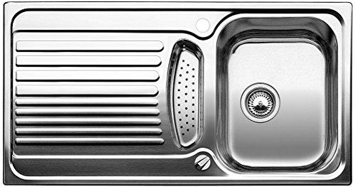 (Blanco Toga 5 S, Küchenspüle, Edelstahl Naturfinish, 1 Stück, 512640)