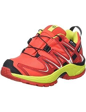 Salomon Kinder XA Pro 3D CSWP, Synthetik/Textil, Trailrunning/Outdoor-Schuhe
