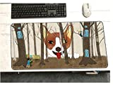 Alfombrilla de ratón alfombrilla de ratón hermosa y hermosa alfombrillas de ratón alfombrilla de ratón Kawaii accesorios de juego alfombrilla de ratón linda juegos de teclado jugador 900 * 400 * 3 mm