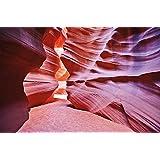 Antelope Canyon FOTOMURALE - Slot Canyon quadro da parete - XXL poster Antelope deserto decorazione da parete America USA Stati Uniti d'America 210 cm x 140 cm