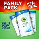 Dettol Anti-Bacterial Cleaning Surface Wipes, 252 Wipes, Pack of 3 x 84