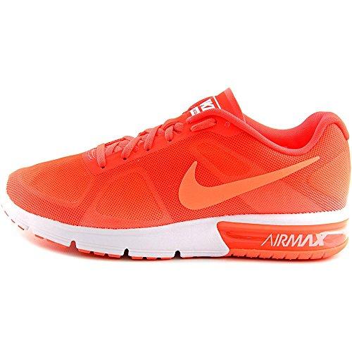 Nike Wmns Air Max Sequent, Scarpe da Corsa Donna Arancione (Naranja (Bright Mango / Brght Crmsn-White))