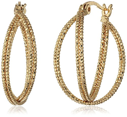 t-tahari-gold-double-wire-textured-hoop-earrings