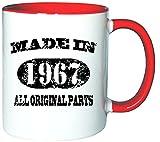 Mister Merchandise Kaffeetasse Becher Made in 1967 All Original Parts Teetasse, verschiedene Farben